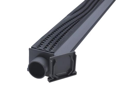 NDS Mini Channel Drain Kit (Black Wave)
