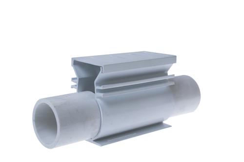 Stegmeier Super Drain Cleanout (White)