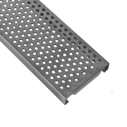 ABT Polydrain Galvanized Reinforced Perforated Heel-Proof Grate