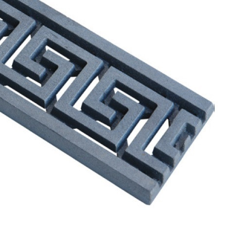 ABT Polydrain Raw Ductile Iron Maze Grate