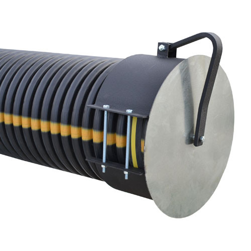 "Flap Gate 10"" for Corrugated Plastic Pipe"