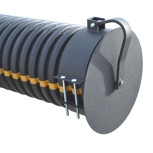 "Flap Gate 15"" for Corrugated Plastic Pipe"