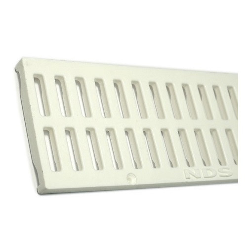 NDS Mini Channel Grate - White (Each)