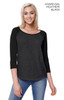1475 - Women's CVC Long Sleeve Raglan