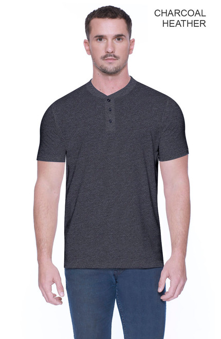 2460 - Men's CVC Henley