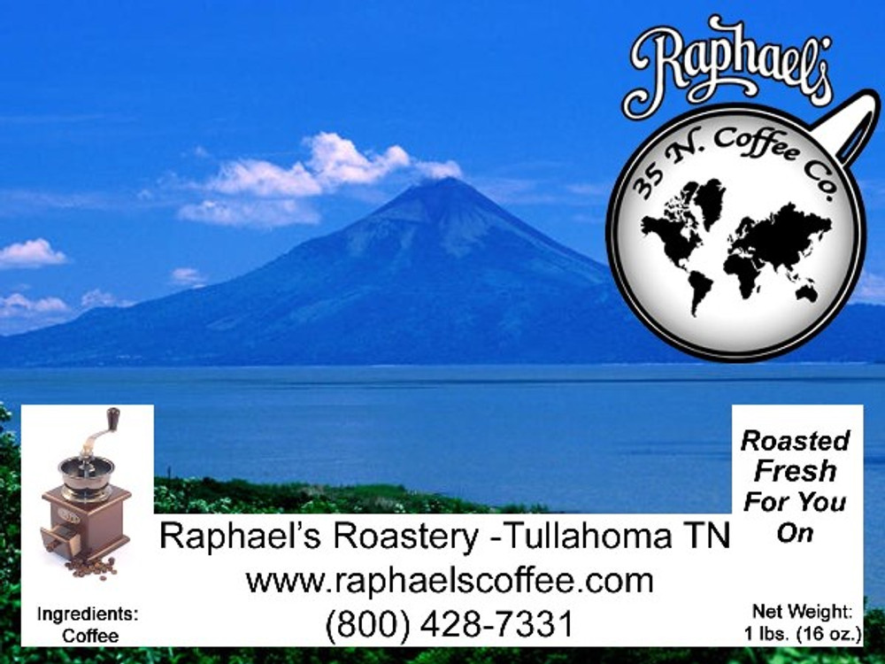Certified Fair Trade Organic Nicaraguan.