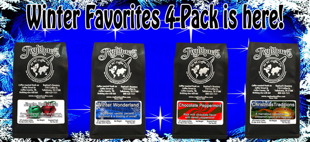 A delicious sampling of 4 Christmas-time favorites!