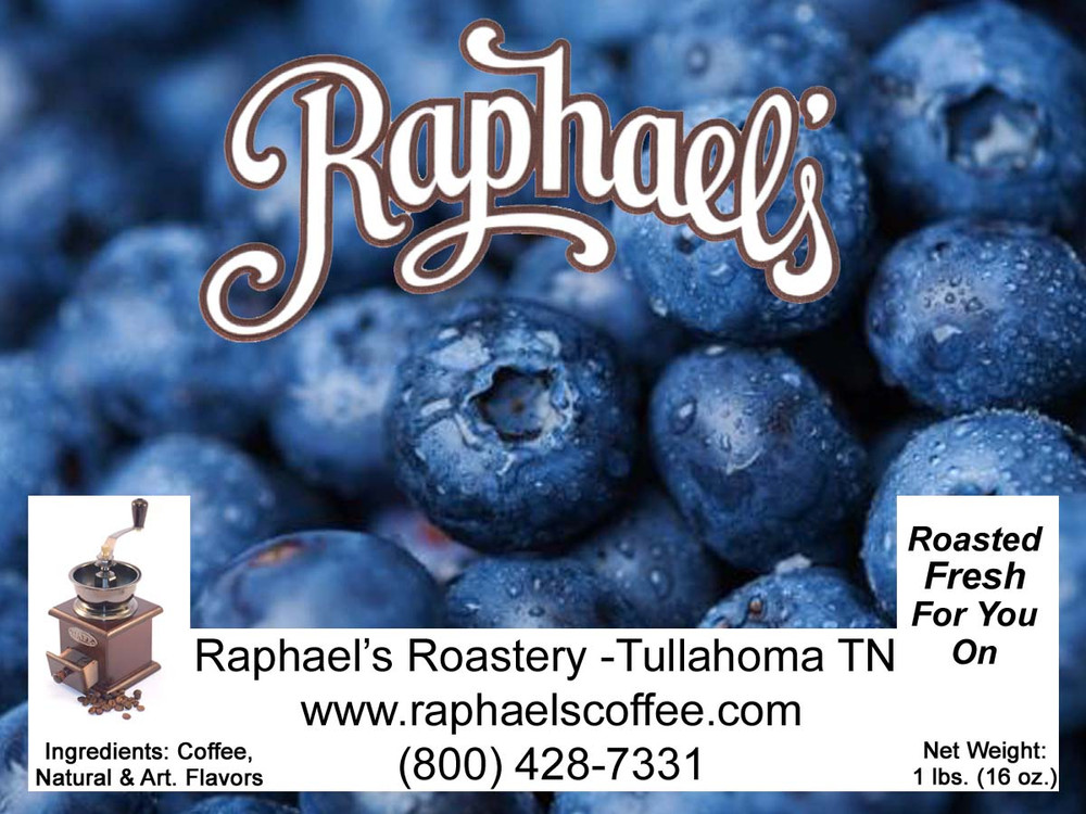 Delicious blueberry flavor, with a touch of cinnamon!