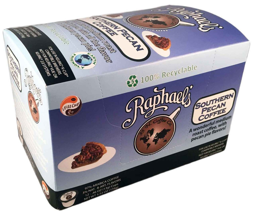 Southern Pecan - Box of 12 Single-Serve Cups