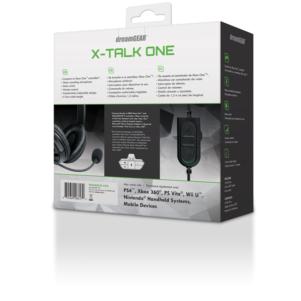 X-Talk One Gaming Headset for Xbox One® - dreamGEAR