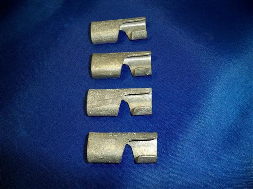 Galvanized service Sleeve Clamps Ea.