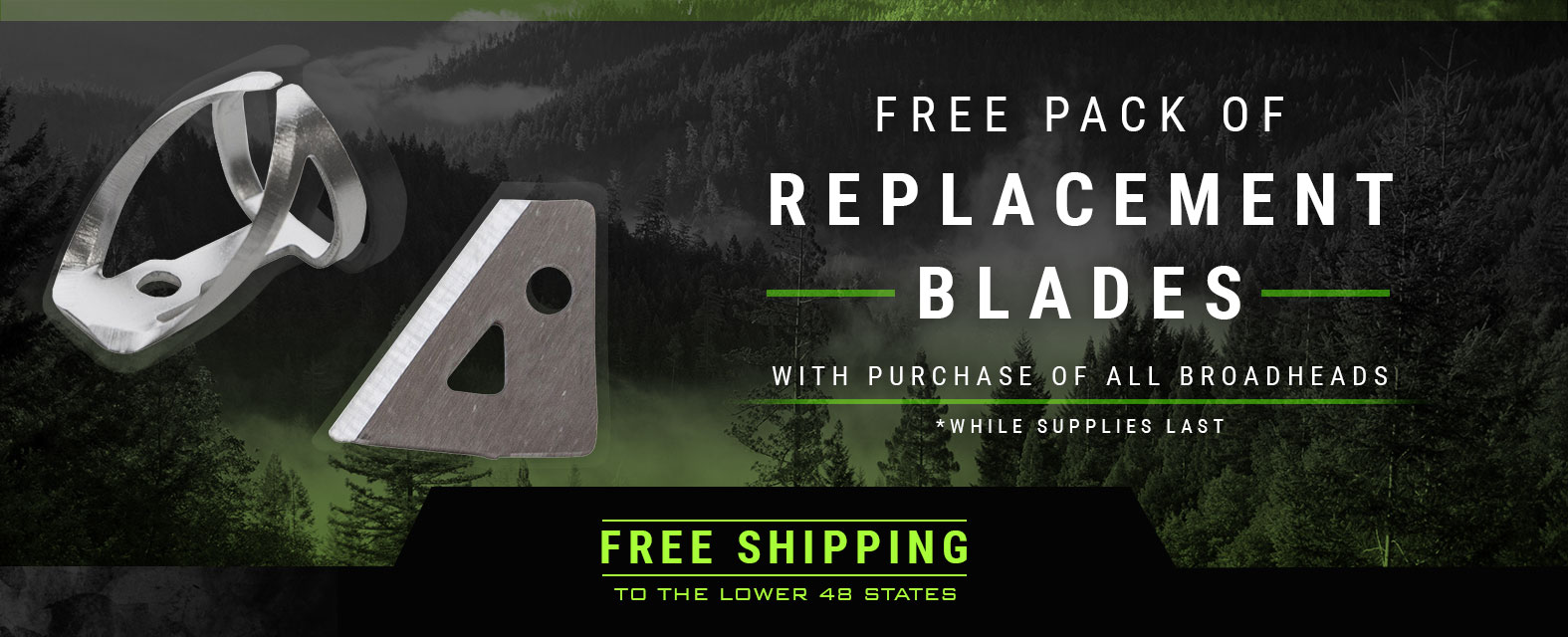 Free Pack of Replacement Blades