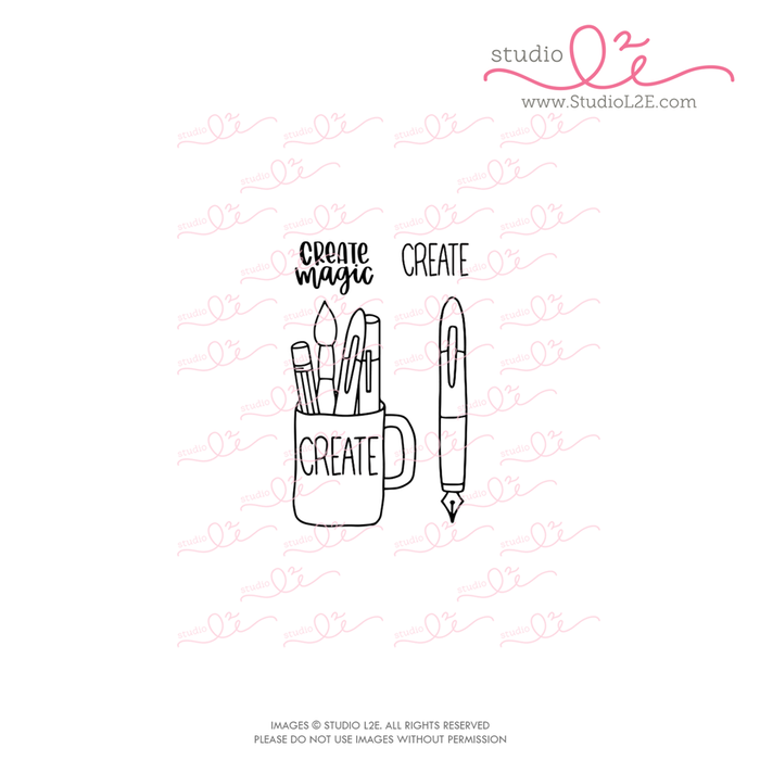 Create planner stamps by Studio L2E