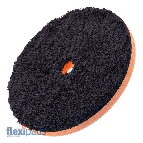 "150mm (6"") DA BLACK Microfibre CUTTING Disc (19mm Hole)"