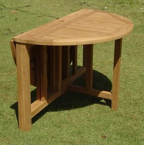 ROUND GATELEG TABLE 48 woodjoyteakcom