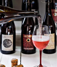 Lambrusco: they say it's making a comeback but to us, it never went out of style...
