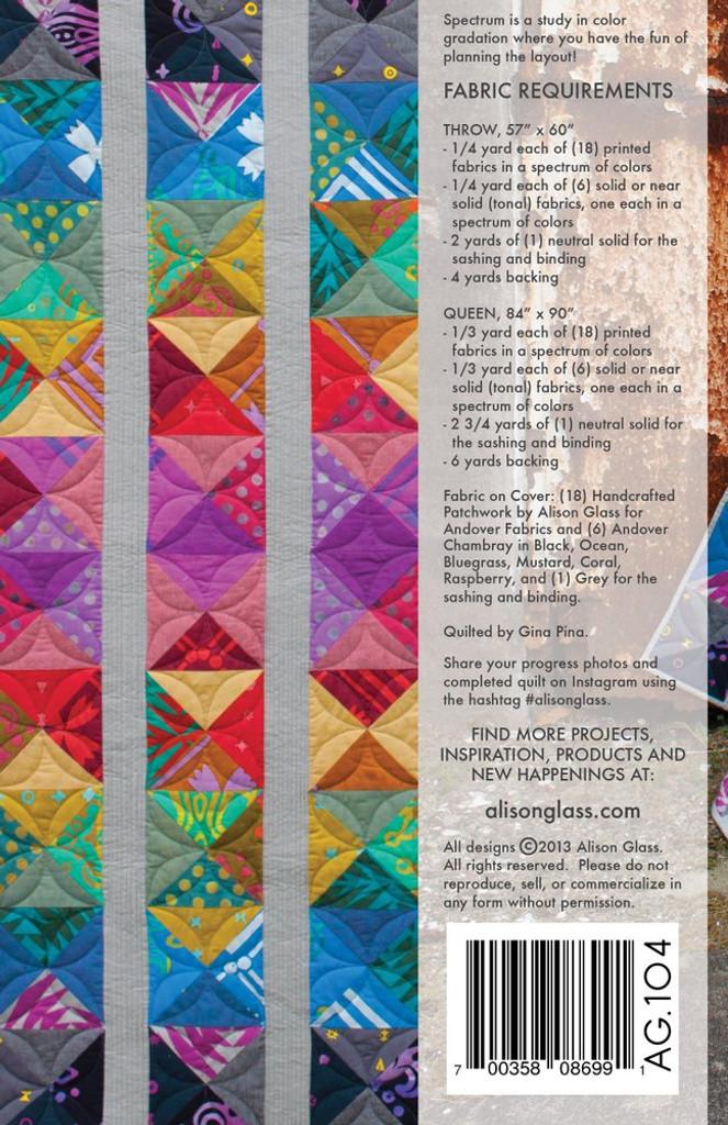 Spectrum - Quilt Pattern