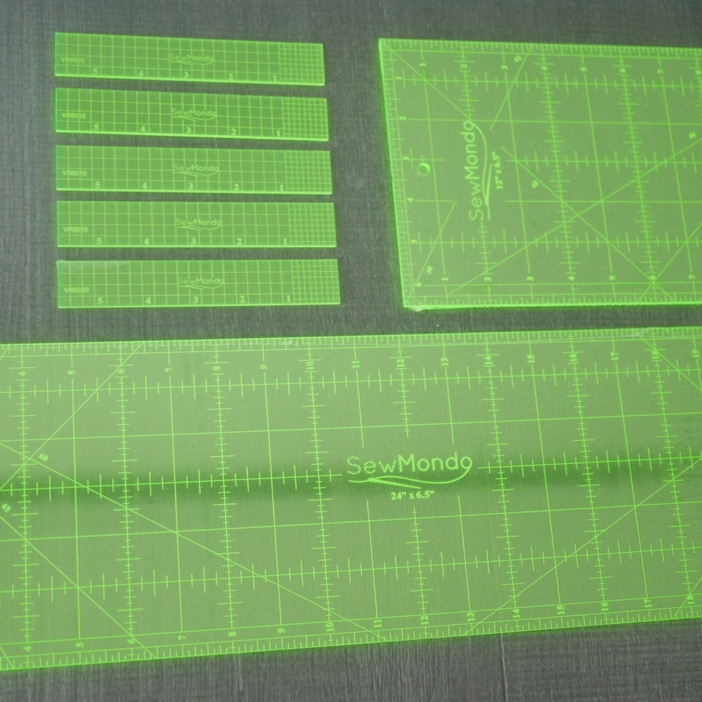 Ruler - 24 x 6.5 inches