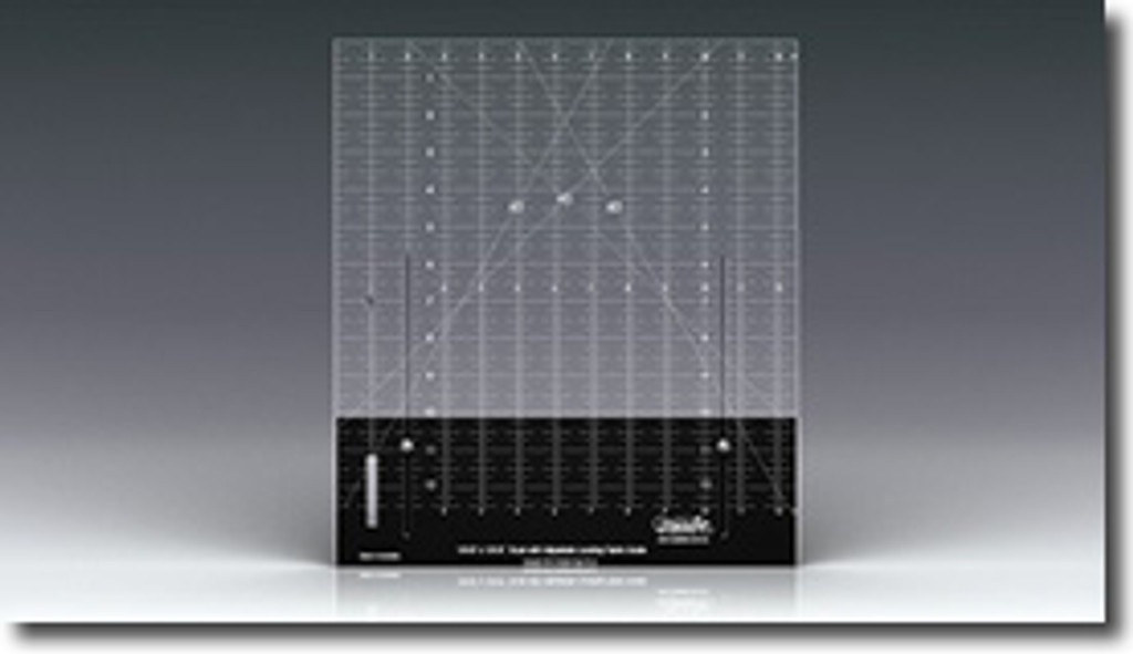 Adjustable Ruler - 12.5 x 12.5 inches