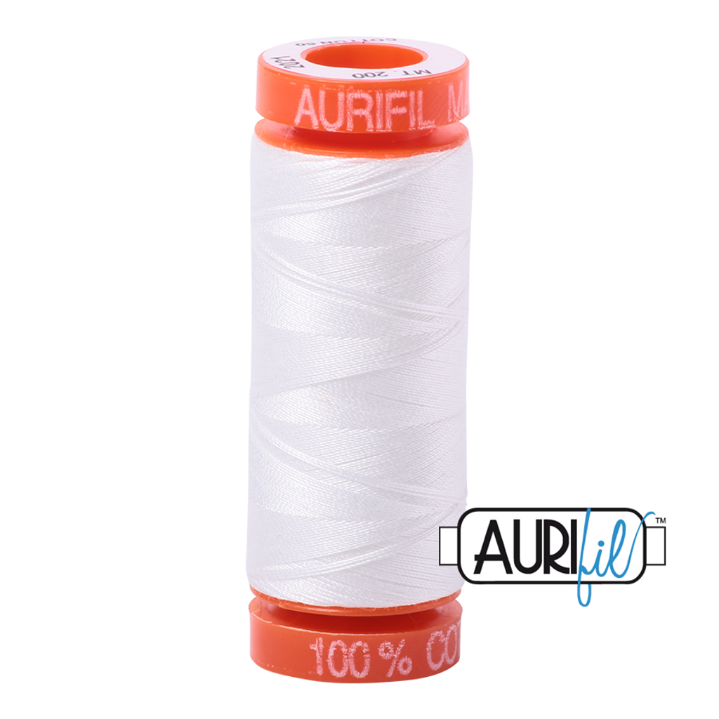 Mako Cotton 50wt 200m - 2021 (Natural White)