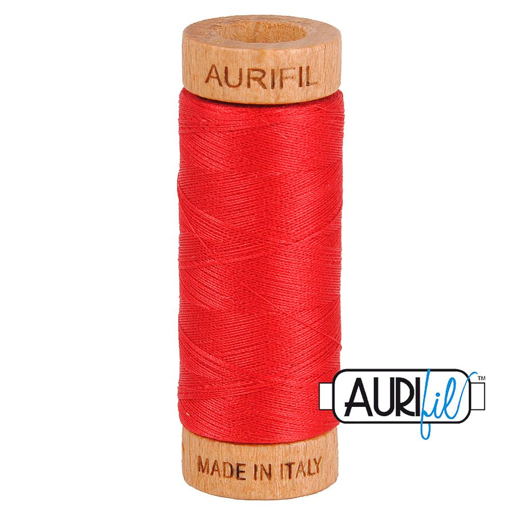 Mako Cotton 80wt 280m - 2250 (Red)