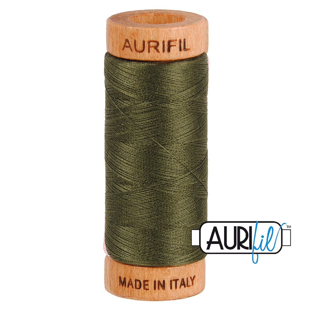 Mako Cotton 80wt 280m - 5012 (Dark Green)
