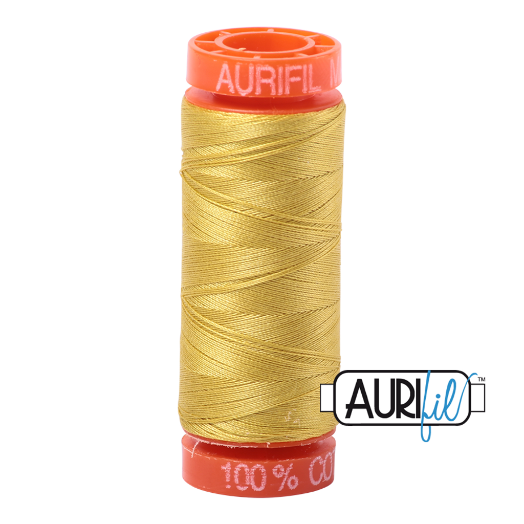 Mako Cotton 50wt 200m - 5015 (Gold Yellow)