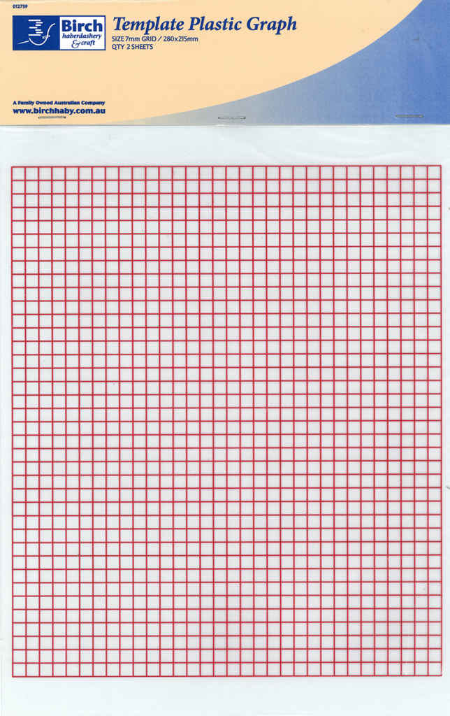 Plastic Sheets - 280mm x 215mm (2 Pack)