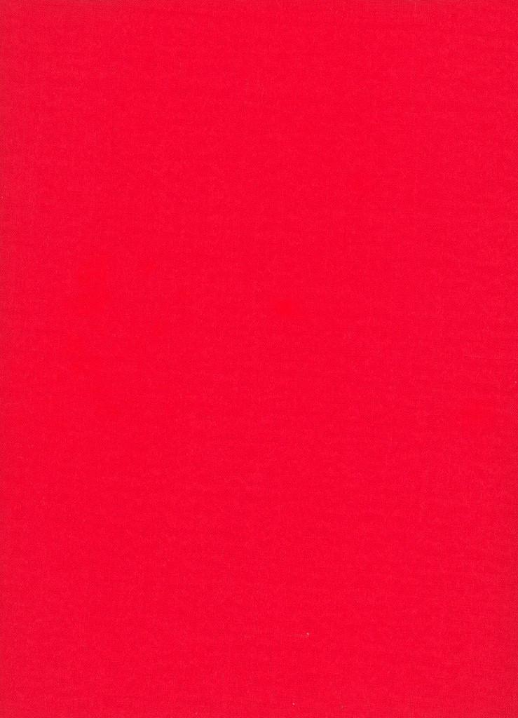 Linen - Pillar Box Red