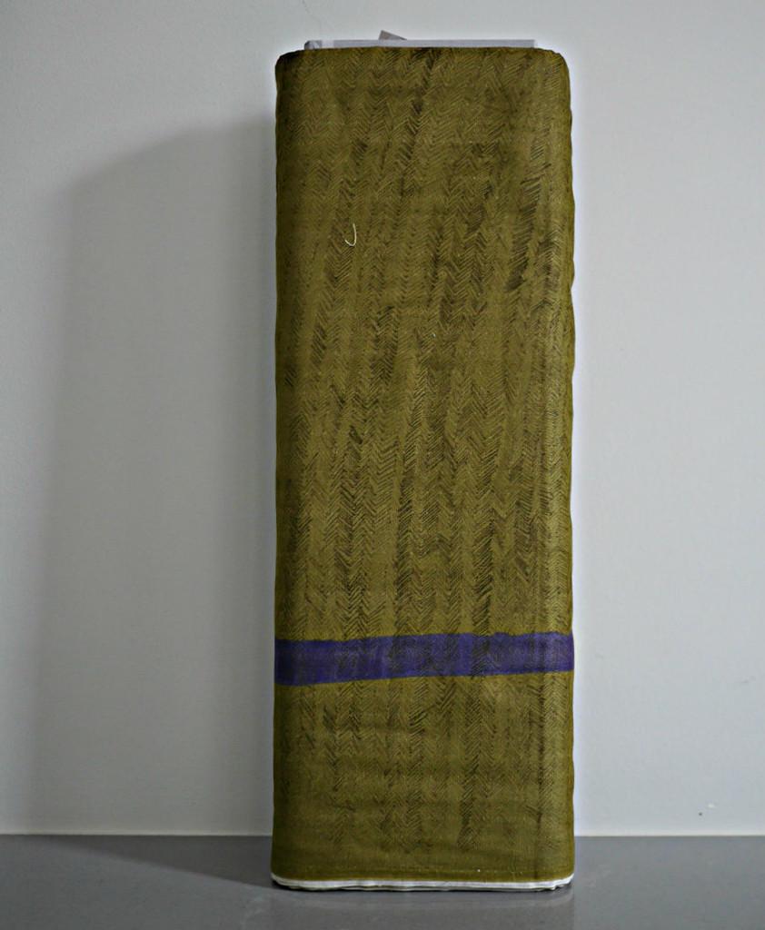 Nani Iro - Herringbone - Green (Double Gauze)