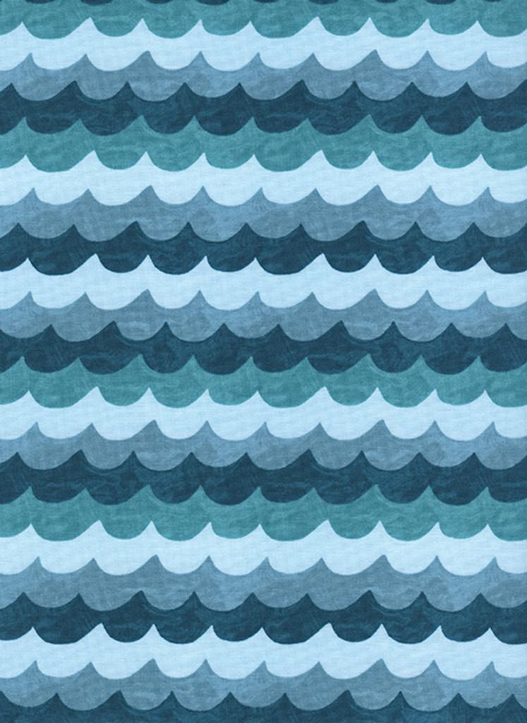 Amalfi - Waves (Turquoise)
