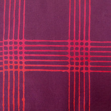 Chroma Handcrafted - Plaid - Eggplant