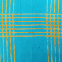 Chroma Handcrafted - Plaid - Turquoise