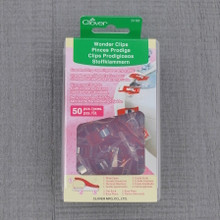 Wonder Clips (50 Pack) - Red