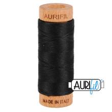 Mako Cotton 80wt 280m - 2692 (Black)