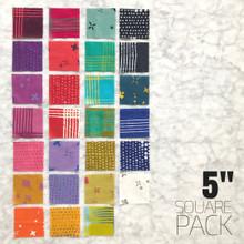 "Chroma - 5"" square pack"