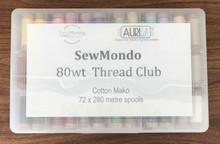 Aurifil 80wt Thread Club (First Month)