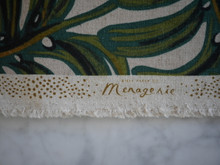 Menagerie - Monstera - Natural (Canvas)