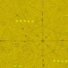 Sun Print 2018 - Compass - Chartreuse