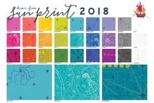 Sun Print 2018 - Fat Quarter Bundle