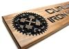 GYM Sign-motivational home gym sign-custom garage gym sign-personalized gym sign-custom barbell sign-(CWD-309)