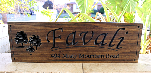 Family Sign (CWD-53)