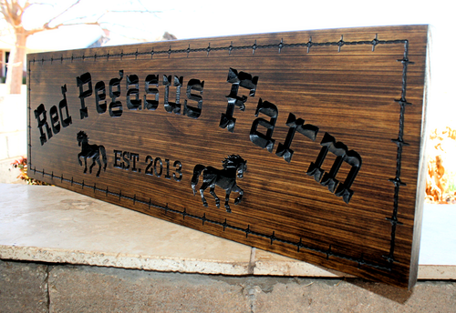 Farm Sign (CWD-108)