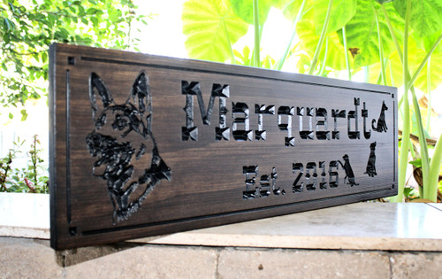 German Shepard Sign