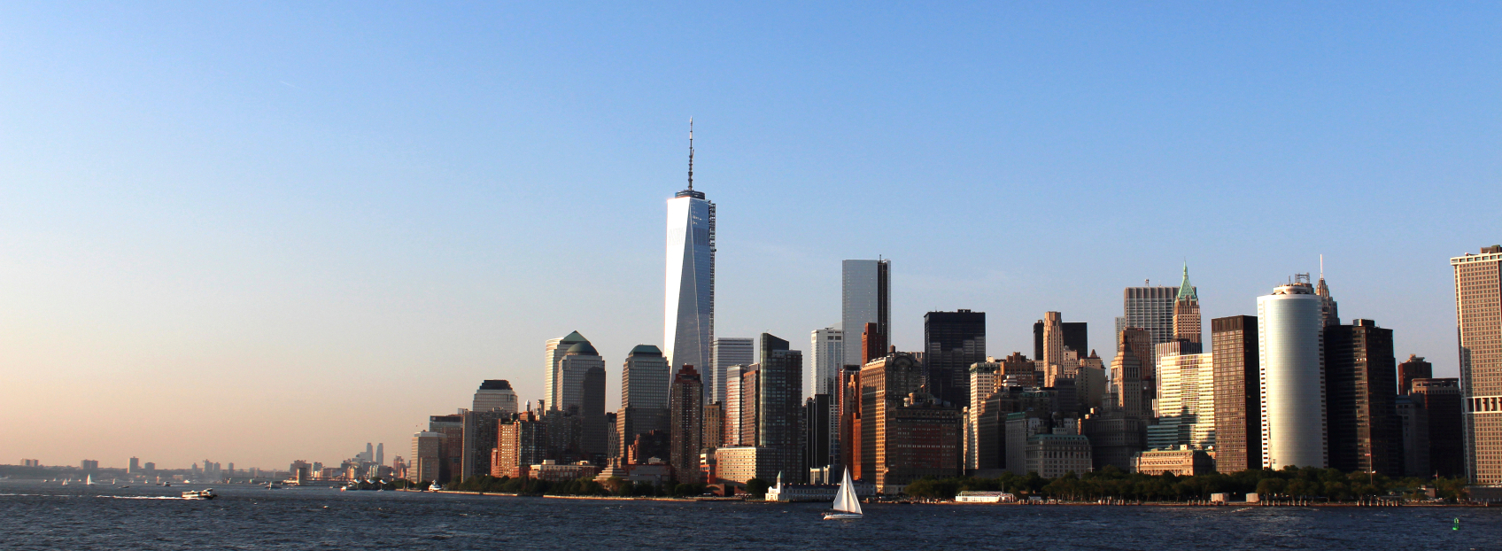 Wine box feat. NEW YORK Skyline