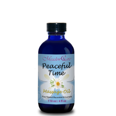 MeadowCare Peaceful Time Massage Oil 4oz