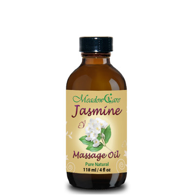 MeadowCare Jasmine Massage Oil 4oz