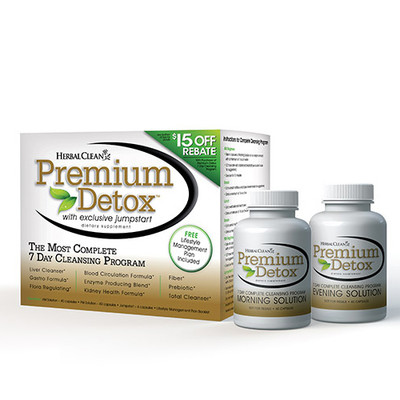 Herbal Clean Premium Detox 7 Day Cleansing Program