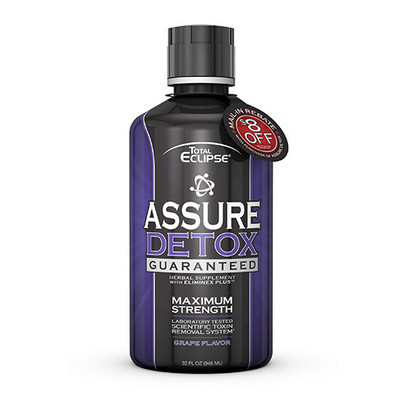 Total Eclipse Assure Detox Maximum Strength GRAPE 32 fl oz