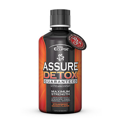 Total Eclipse Assure Detox Maximum Strength STRAWBERRY-MANGO 32 fl oz